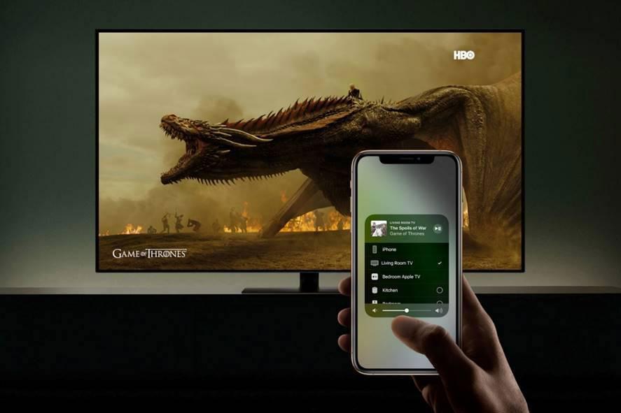 chiếu màn hình điện thoại lên tivi fpt play box